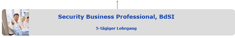 Zertifikatslehrgang Security Business Professional, BdSI
