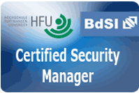 Weiterbildungen für Security Manager und Krisenmanager